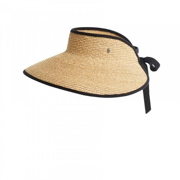 a04ca8091 Helen Kaminski Mai raffia visor hat